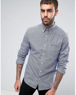 Mini Gingham Regular Fit Check Shirt