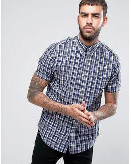 Regular Fit Checked Shirt