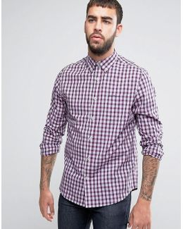 Regular Fit Checked Shirt