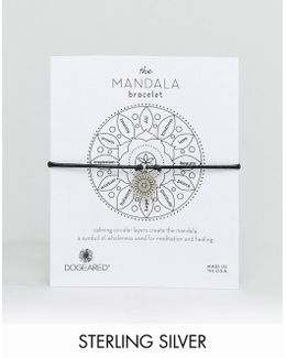 Exclusive Mandala New Beginnings Charm Leather Bracelet