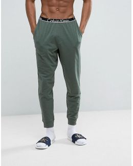Id Joggers With Cuffed Ankle In Slim Fit