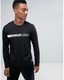 Id Long Sleeve T-shirt With Crew Neck