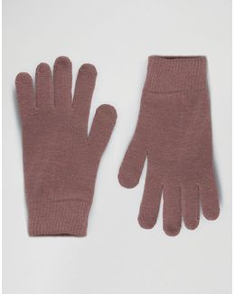 Touch Screen Gloves In Pink