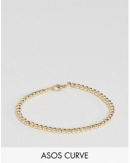 Stretch Ball Chain Bracelet
