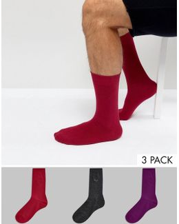 Socks In 3 Pack