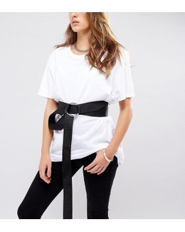 Double Wrap Belt With Ring Fastening