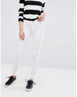 Jute High Waisted Skinny Jeans