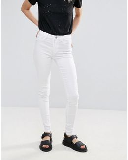 Just Wear Mid Rise Skinny Jeans