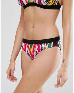 Rainbow Ikat Bikini Bottom