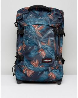 Tranverz Cabin Luggage With Palm Print