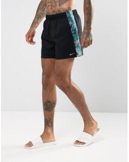 Spliced Super Short Swim Shorts In Black Ness7448001