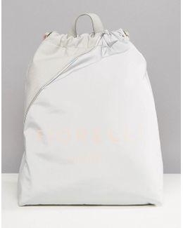 Sport Elite Drawstring Gym Backpack In Grey