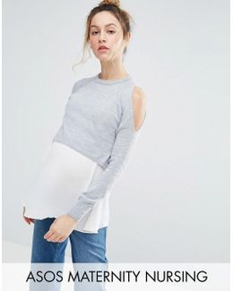 Nursing Double Layer Jumper
