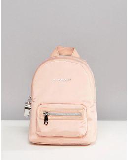 Sport Strike Mini Nylon Backpack In Blush