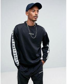 Adicolor Tnt Tape Crew Sweatshirt In Black Br6748