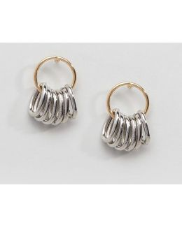 Mini Metal Hoop Earrings
