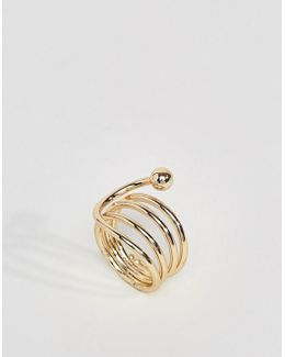 Swirl Surround Ring