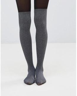 Marl Secret Sock