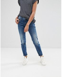 Casual Dawn Straight Jeans