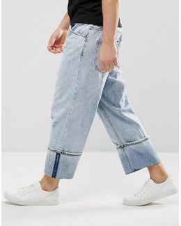 Unisport Jeans Drain Blue Wash
