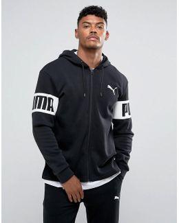 Rebel Full-zip Pullover In Black 59245501