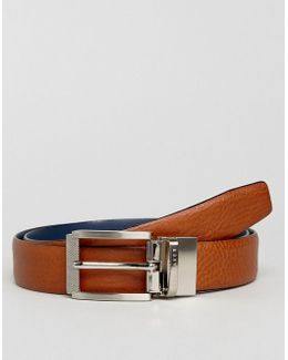Reversible Belt Reva In Leather