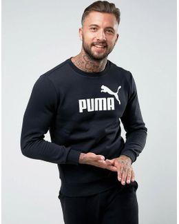 Ess No.1 Crewneck Sweatshirt In Black 83825201