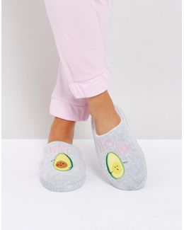 Never Leave Avo-cuddle Slippers