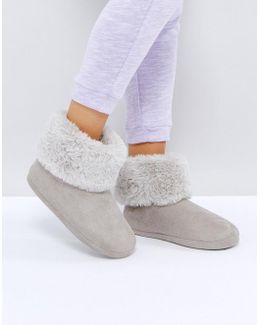 Night In Bootie Slippers