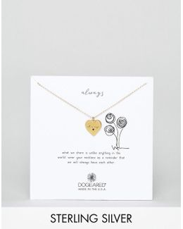 Gold Plated Always Heart Necklace