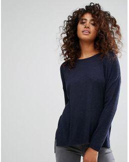 Oversized Light Knit Sweater