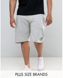 Loyalty And Faith Plus Jogger Sweat Shorts