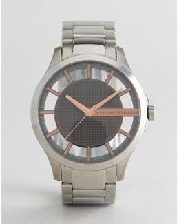 Ax2199 Silver Bracelet Watch Exclusive To Asos