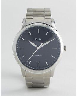 Fs5307 Bracelet Watch In Silver 44mm