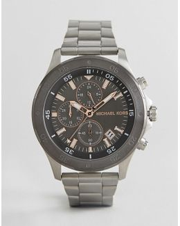 Mk8569 Walsh Bracelet Watch In Silver 44mm