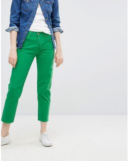 Cropped Straight Jean