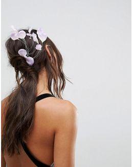 Floral Vine Hair Comb