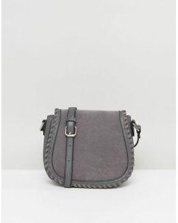 Stitched Saddle Bag