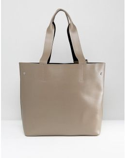 Tote Bag With Removable Pouch