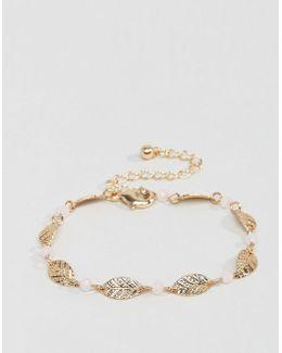 Leaf Chain Bracelet