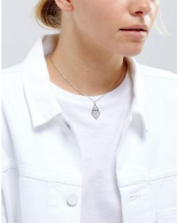 Clean Cut Out Choker Necklace