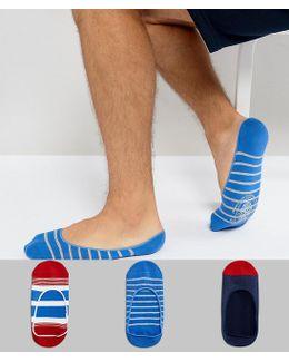 3 Pack Sneaker Socks