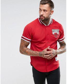 Nba Chicago Bulls Mesh T-shirt