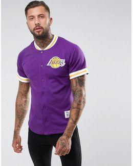 Nba L.a Lakers Mesh T-shirt