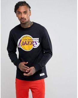 Nba L.a Lakers Long Sleeve Top