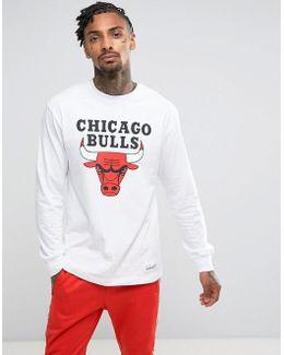 Nba Chicago Bulls Long Sleeve Top