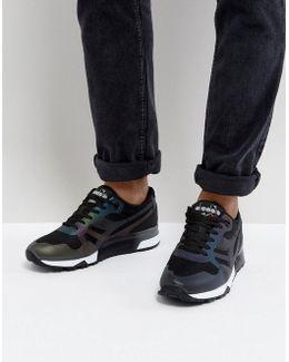 N9000 Mm Hologram Sneakers In Black