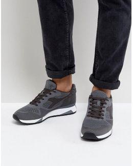V7000 Weave Sneakers In Gray