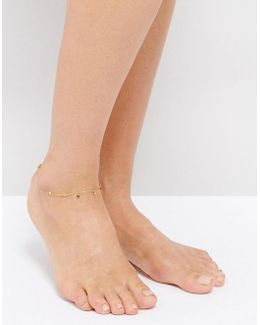 Mini Coin Anklet