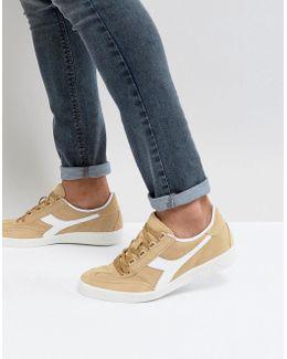 B.original Sneakers In Beige